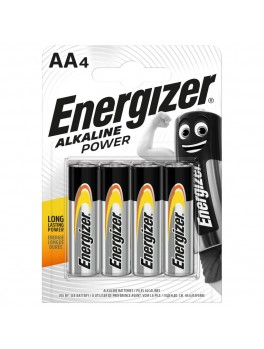 ENERGIZER Alkaline Power AA Batteries - 4pcs/card (E91)