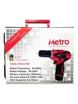 METRO ZM41108 Cordless Drill