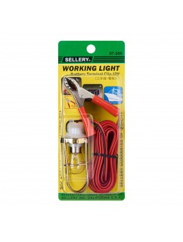 SELLERY 07-205 Working Light with Battery Clip