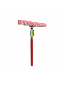 "SELLERY 07-619 Sponge & Rubber Squeegee- 8"", (Wooden Handle)"