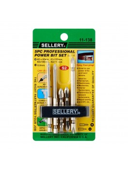 SELLERY 11-138 5pc Double End Bits