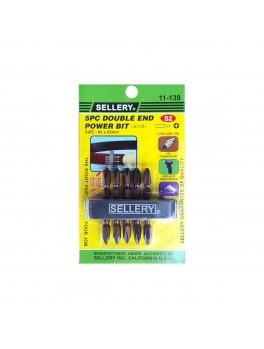 SELLERY 11-139 5pc Double-End Power Bit Set