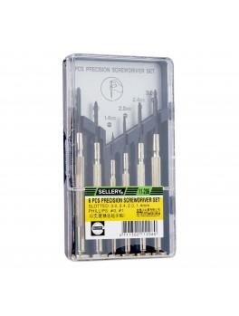 SELLERY 11-206 6pc Precision Screwdriver Set