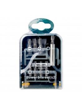 SELLERY 11-221 18pc Power Bit Extension Bar Set