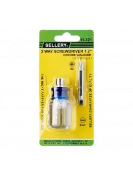 SELLERY 11-321 2-Way Crystalline Screwdriver- 1/2''
