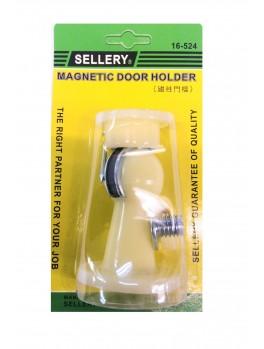 SELLERY 16-524 Magnetic Door Holder - Blister Card (Ivory)