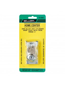 SELLERY 16-666 Hasp Lock Size- 3''