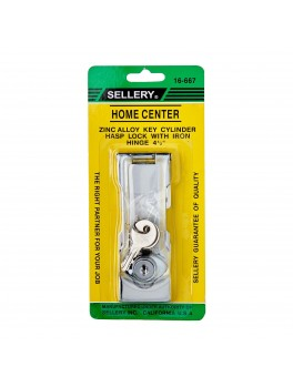 SELLERY 16-667 Hasp Lock Size- 4.5""