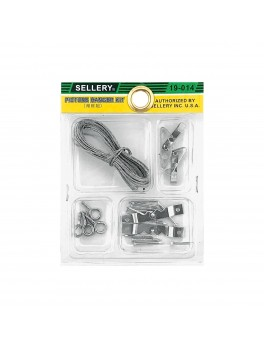SELLERY 19-014 Picture Hanger Kit (Multi Size)