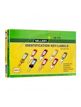 SELLERY 19-115 Identification Key Labels