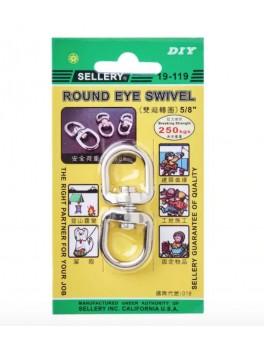 "SELLERY 19-119 Round Eye Swivel 5/8"""