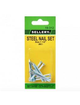 """SELLERY 19-312 Steel Nail Set- 1.5"""""""