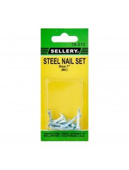 """SELLERY 19-313 Steel Nail Set- 1"""""""
