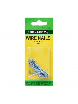 SELLERY 19-316 Wire Nails #15x1.1/2""