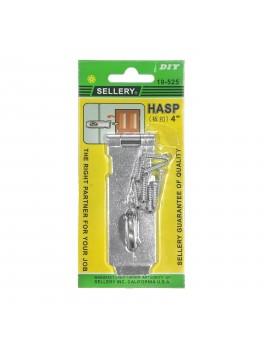"""SELLERY 19-525 Steel Hasp 4"""""""