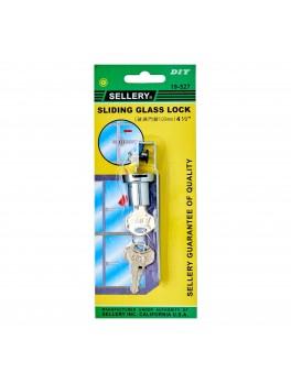 "SELLERY 19-527 Sliding Glass Lock 4.5"""