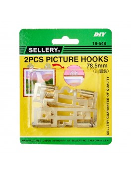 SELLERY 19-548 Picture Hooks- 78.5mm