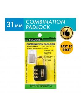 SELLERY 22-319 Combination Padlock 30mm