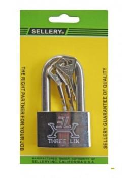SELLERY 22-722 Padlock (S/S Long Shackle) 50mm
