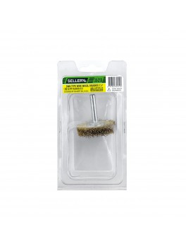 "SELLERY 30-210 Wire Wheel Brush, Size: 1.5""x10mmx10mm"