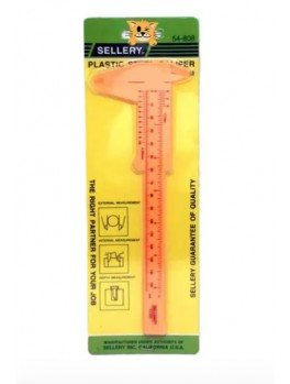 "SELLERY 54-808 Plastic Steel Caliper, Length: 6"""