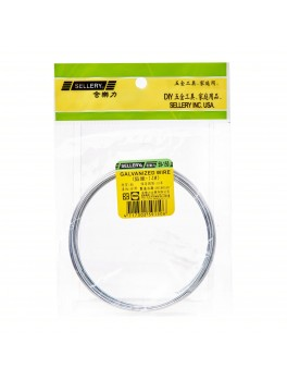 SELLERY 59-150 Galvanized Wire, Size: #14x320cm