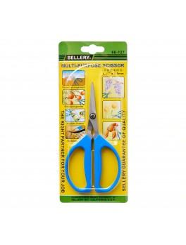 "SELLERY 66-127 Multi Purpose Scissors, 6.25""x2.5mm"