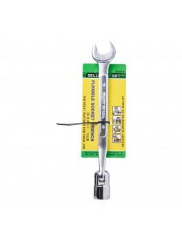 SELLERY 74-619 Flexible Socket Wrench, Size: 19mm