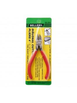 "SELLERY 88-525 Mini Diagonal Cutting Pliers 4"""