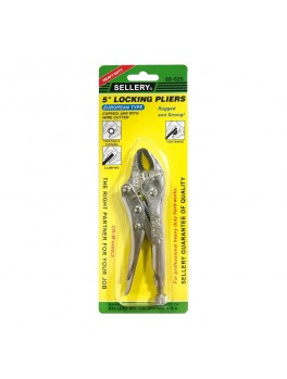 SELLERY 88-825 Locking Pliers - Curved Jaw 5""