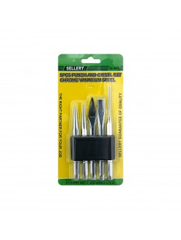 SELLERY 92-842 5pc Punch and Chisel Set