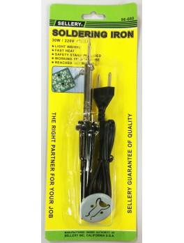 SELLERY 96-660 Soldering Iron, 30w / 220v
