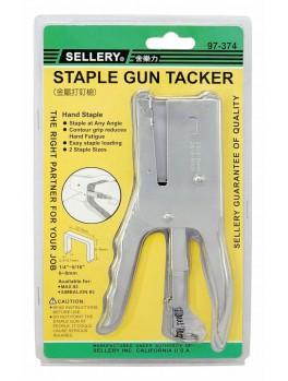 SELLERY 97-374 Staple Gun (for 6mm, 8mm Staplets)