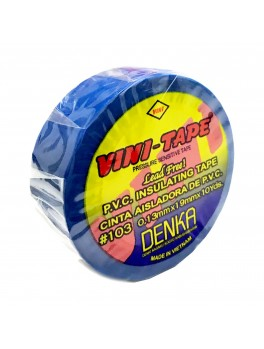 VINI-TAPE #103, 0.13mmx19mmx10YDS (Blue)