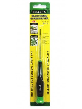 SELLERY 11-942 Precision Screwdriver- Slotted 2.0mm