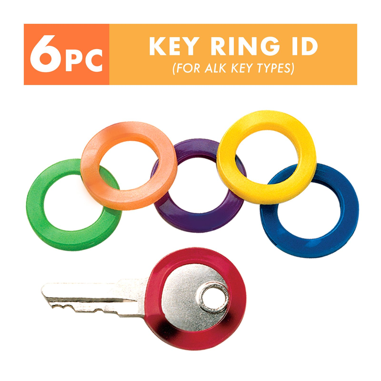 SELLERY 19-110 Identification Key Ring 1""